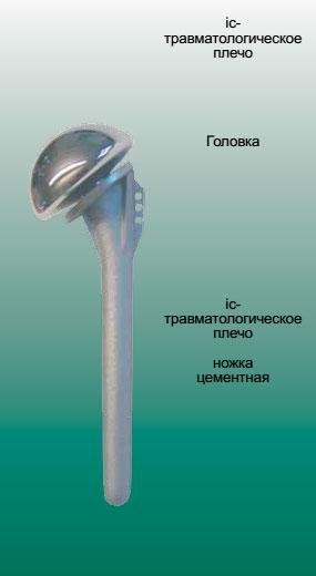 ic - эндопротез плечевого сустава (при травмах)